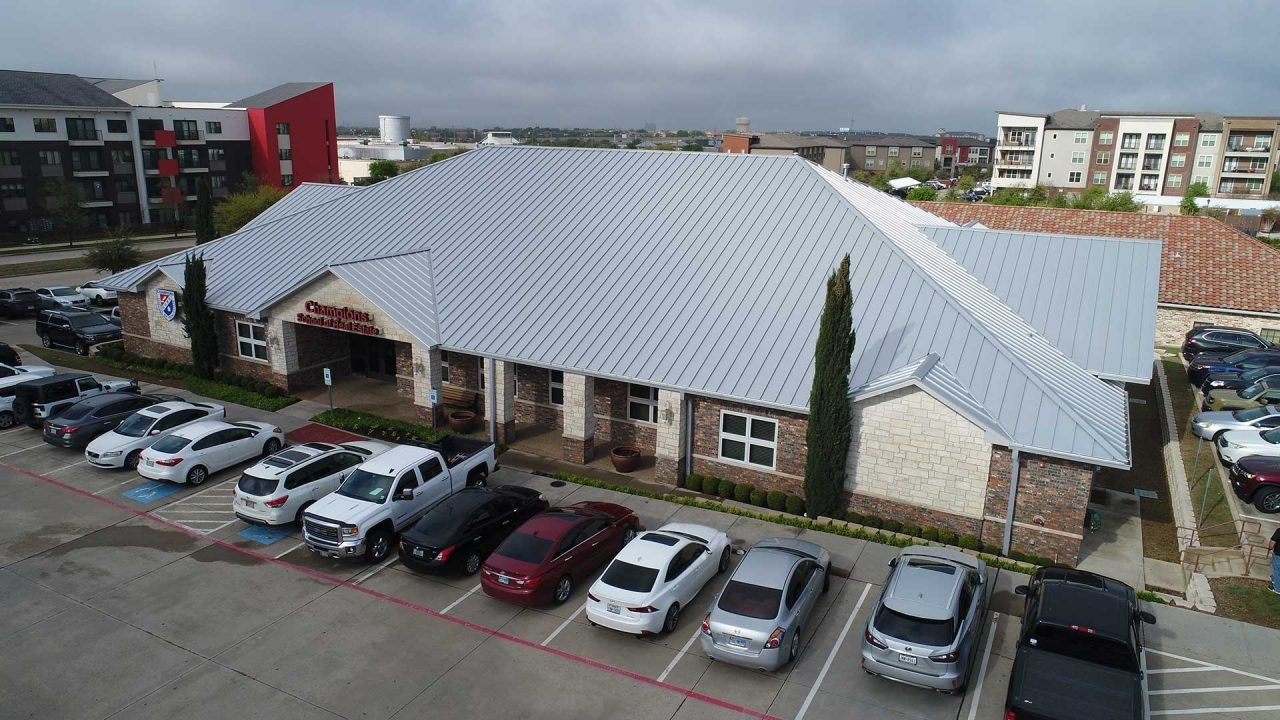 Metal Roof Projects Elevated Commercial Roofing