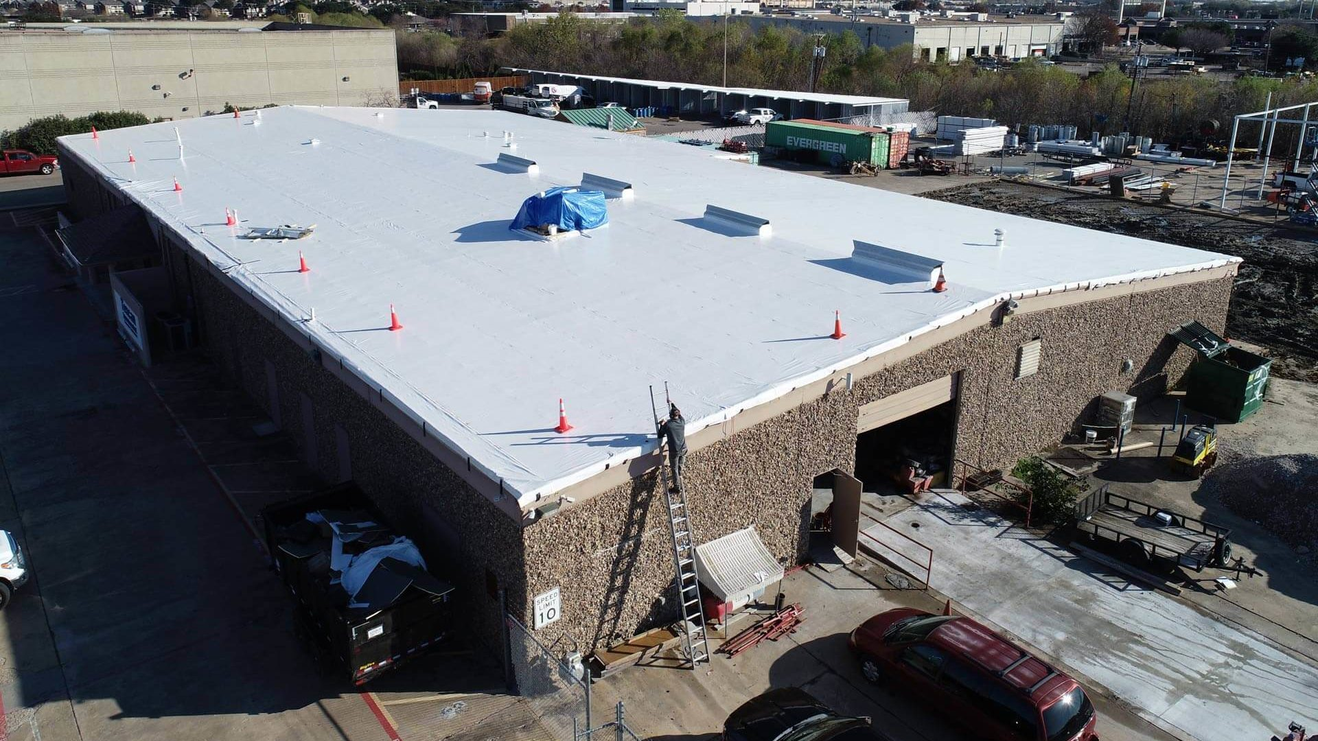 Elevated Commercial Roofing in Frisco, TX