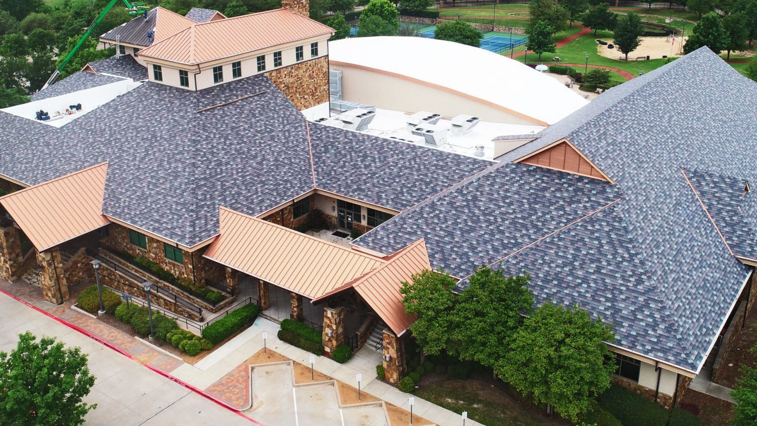 Fitness Center Roofing